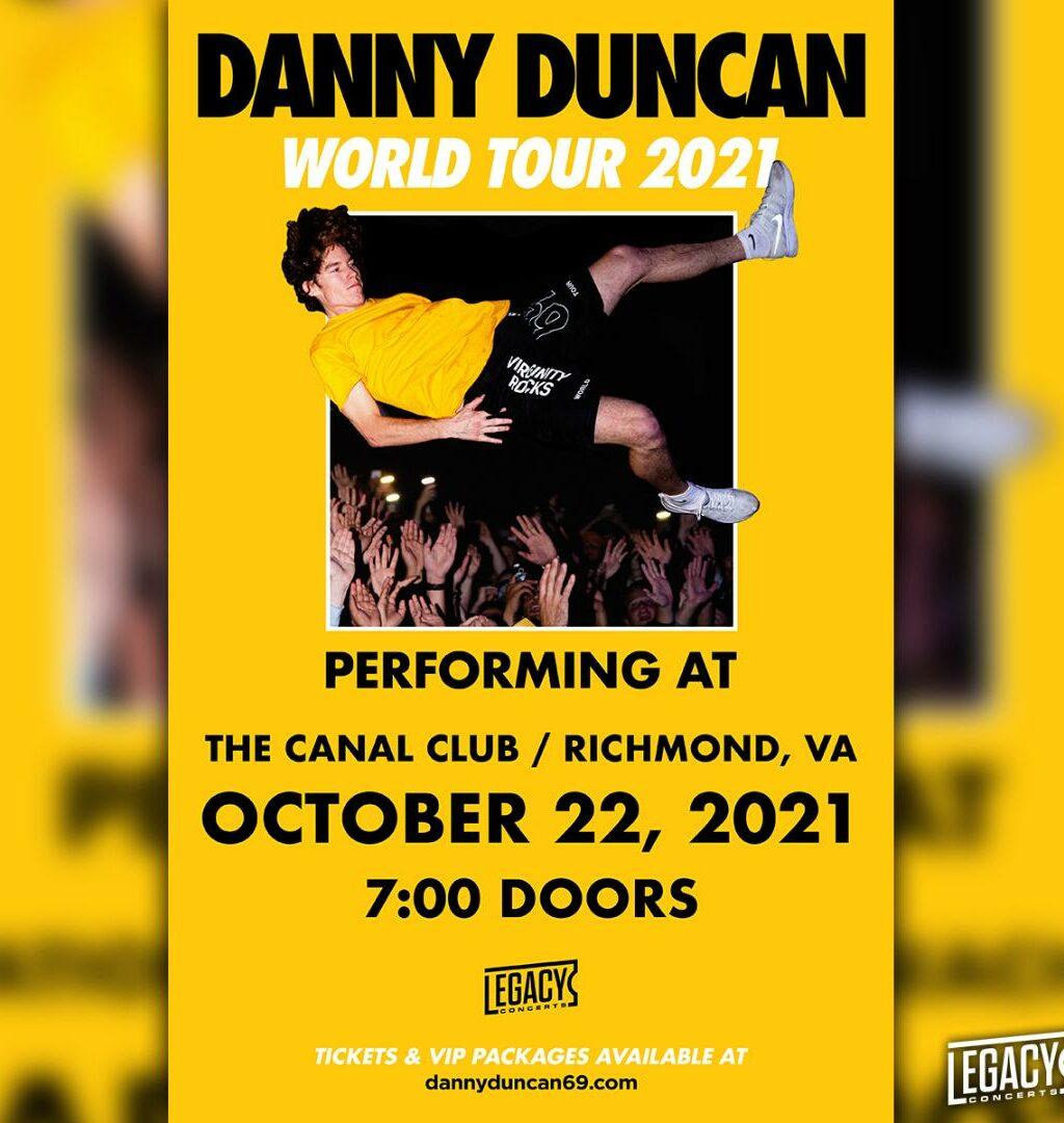 Danny Duncan World Tour 2021