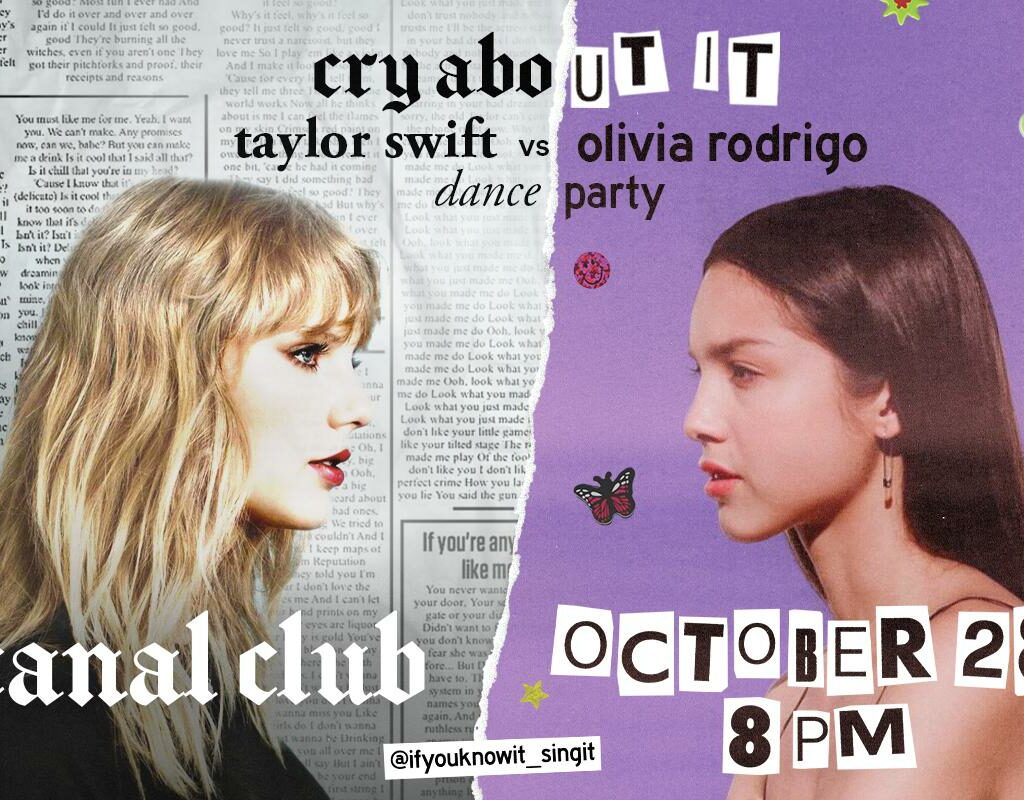 Cry About It: Taylor Swift V. Olivia Rodrigo Dance Party