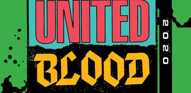 United Blood Festival 14 Fri and Sat April 8 and 9, 2022