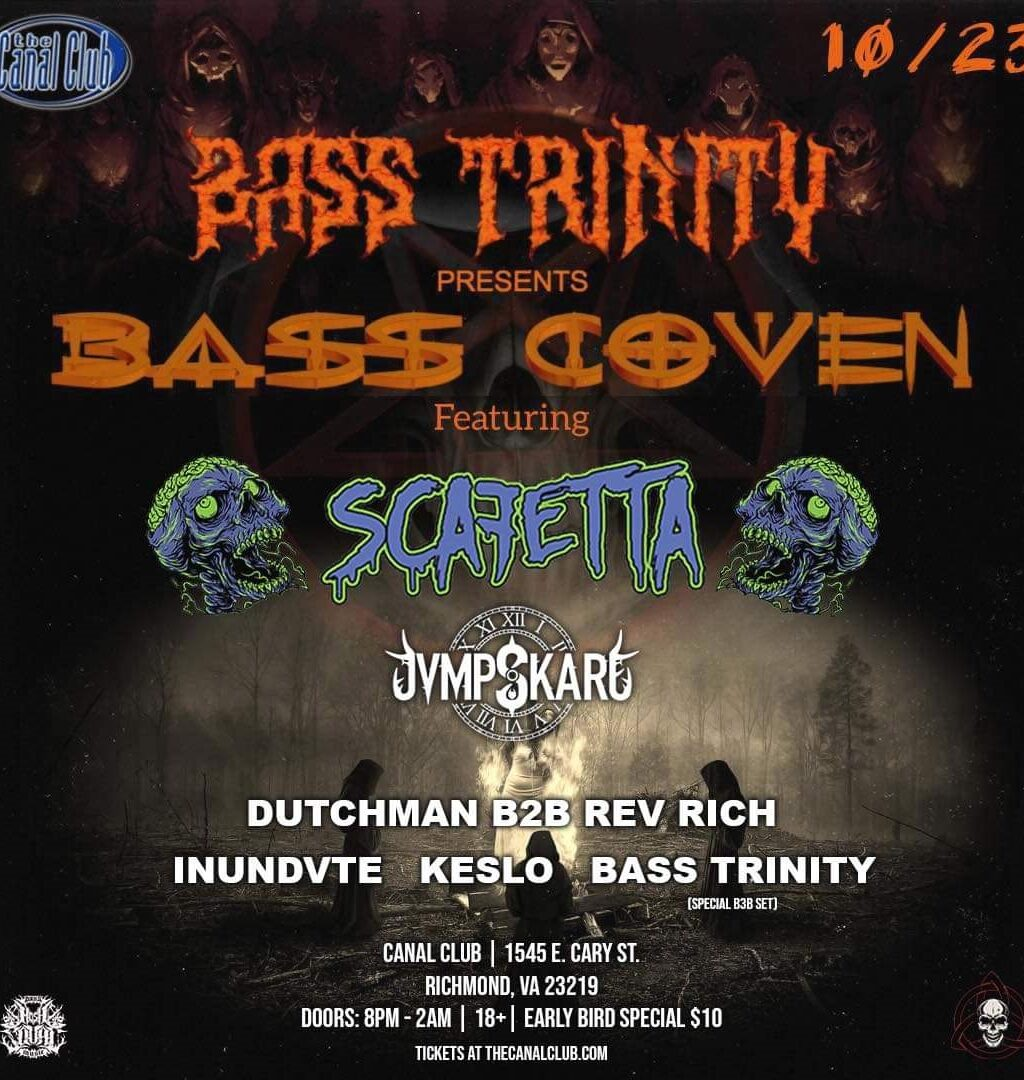 Bass Trinity presents Bass Coven featuring Scafetta